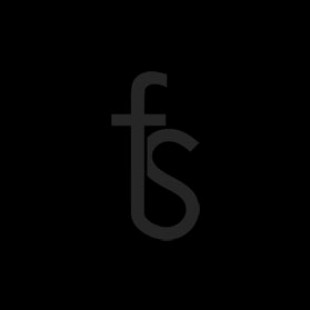 Solid Black Fit and Flare Dress